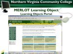 merlot learning object learning objects portal