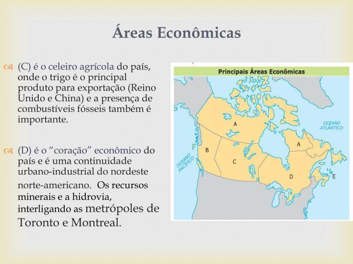 Áreas Econômicas