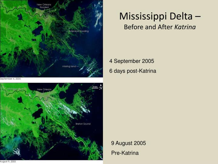 Mississippi Delta –