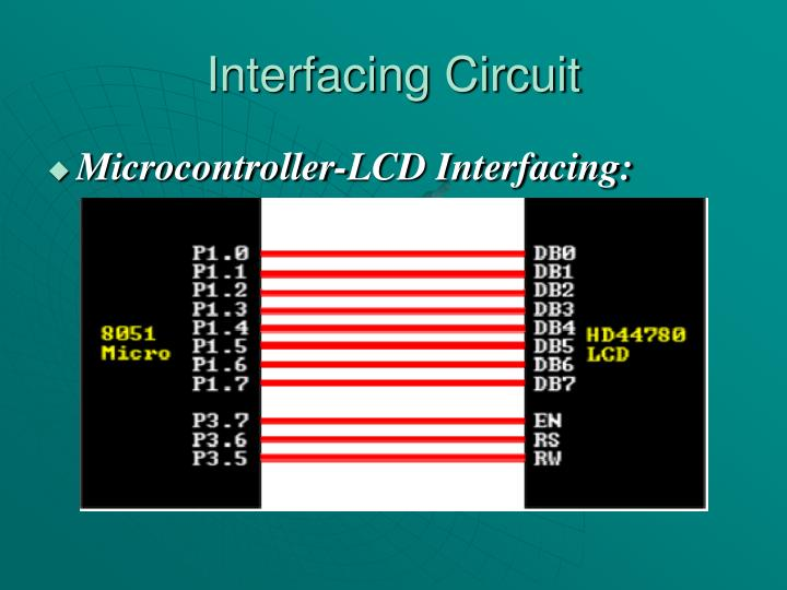 Interfacing Circuit