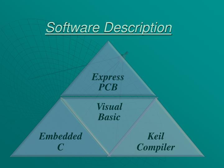 Software Description