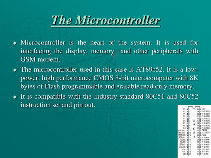 The Microcontroller
