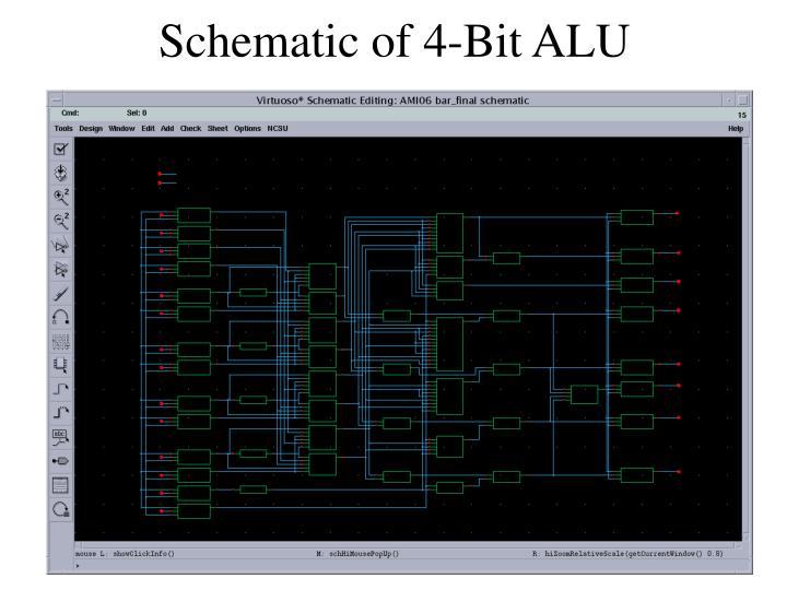 Wiring Diagram  32 4 Bit Alu Circuit Diagram