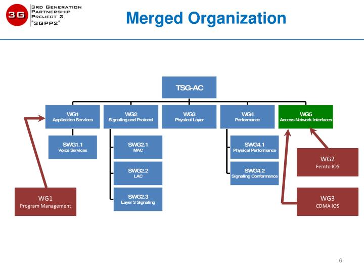 Merged Organization