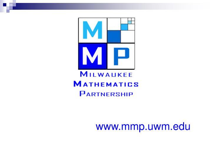 www.mmp.uwm.edu