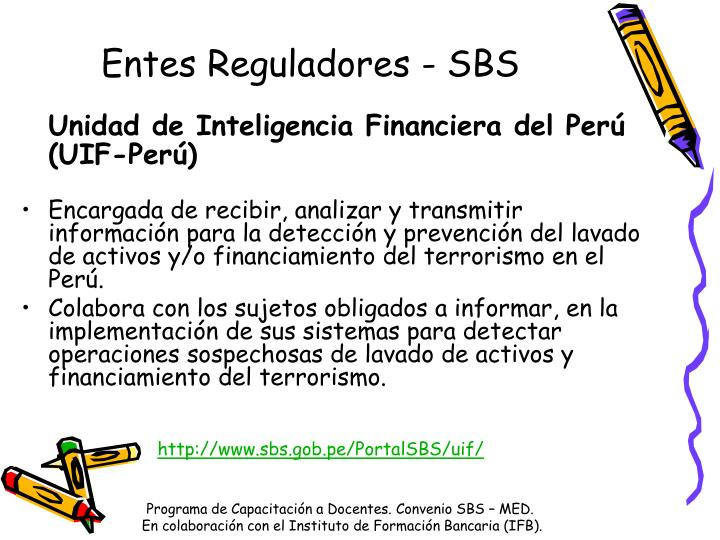 Entes Reguladores - SBS