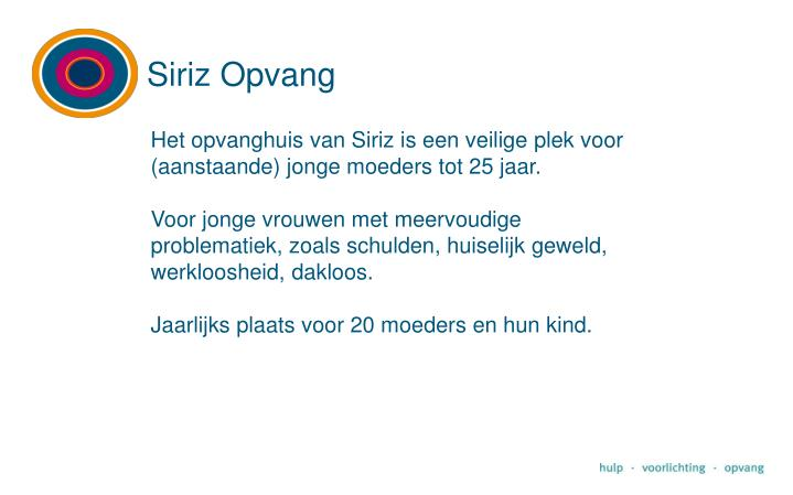 Siriz Opvang
