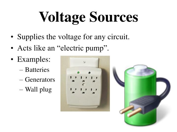 Voltage Sources