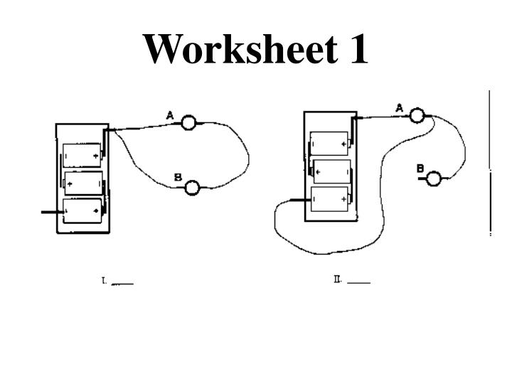 Worksheet 1