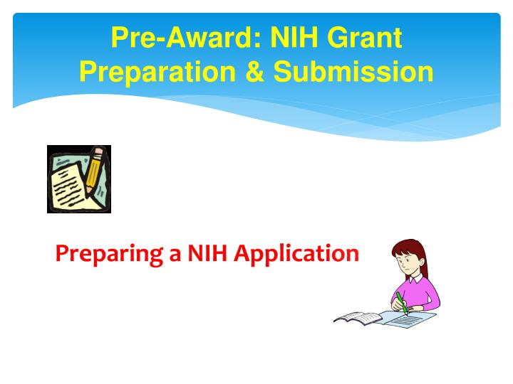 Nih submission dates