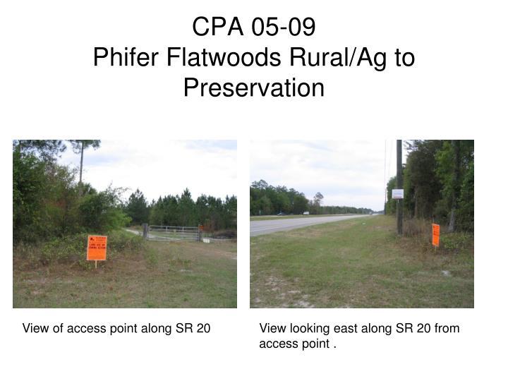 CPA 05-09