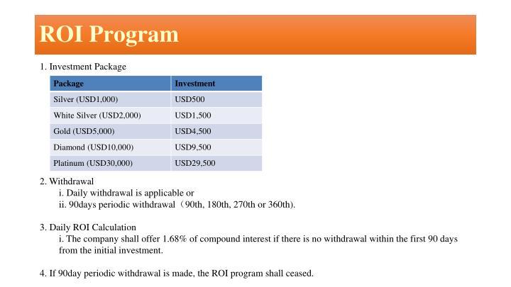 ROI Program