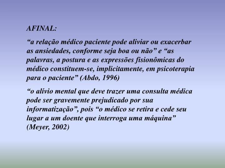 AFINAL: