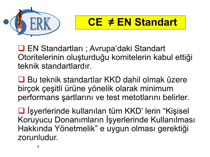 CE  ≠ EN Standart
