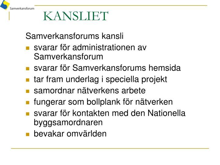KANSLIET