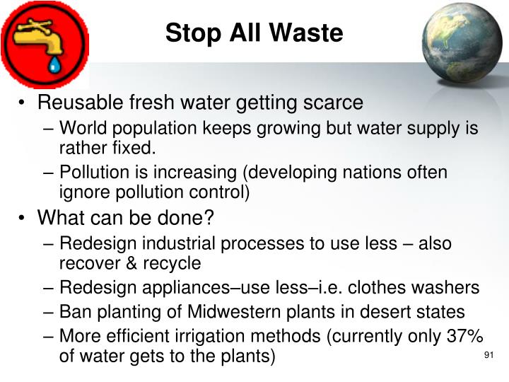 Stop All Waste