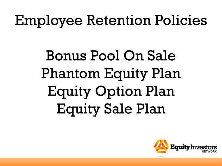 Employee Retention Policies