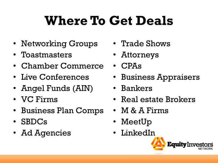 Where To Get Deals