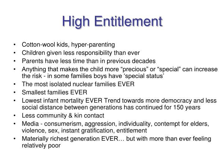 High Entitlement