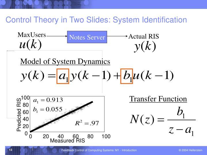 Model of System Dynamics
