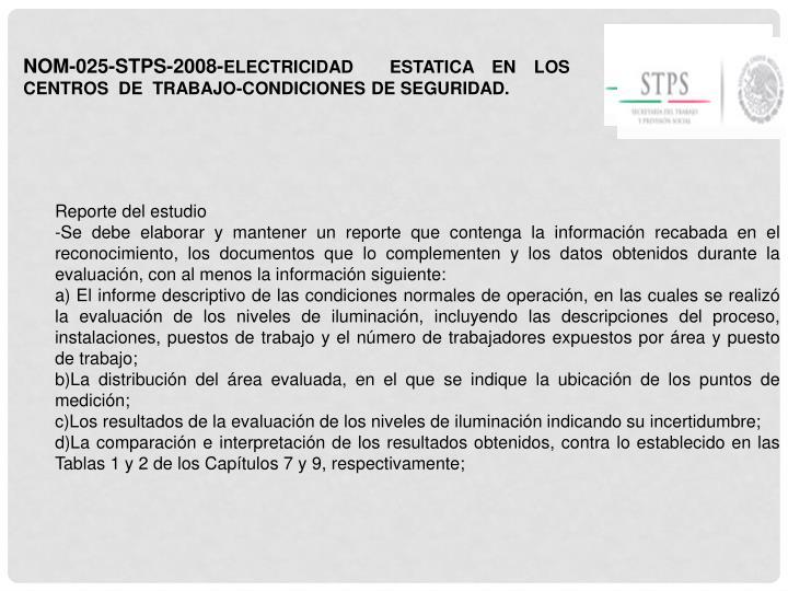 NOM-025-STPS-2008-