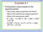 example 6 1
