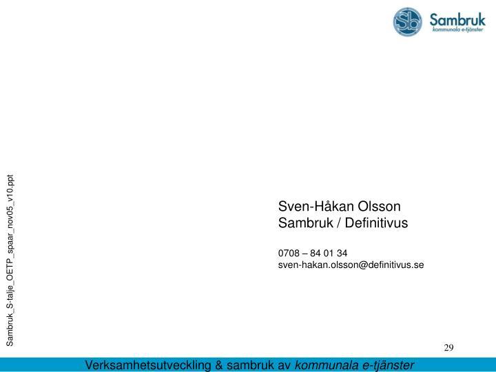 Sven-Håkan Olsson