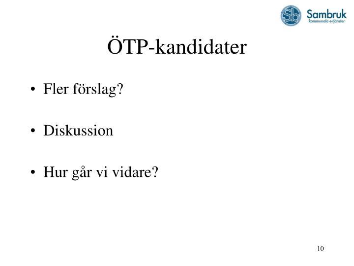 ÖTP-kandidater