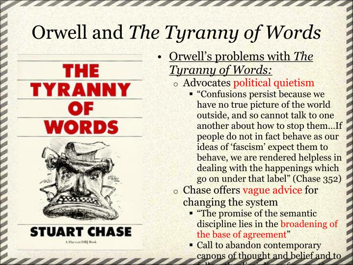 Orwell and