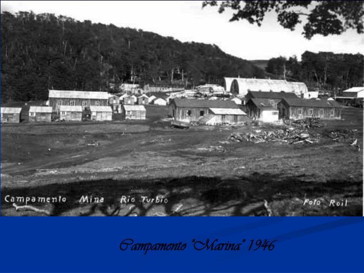 """Campamento """"Marina"""" 1946"""