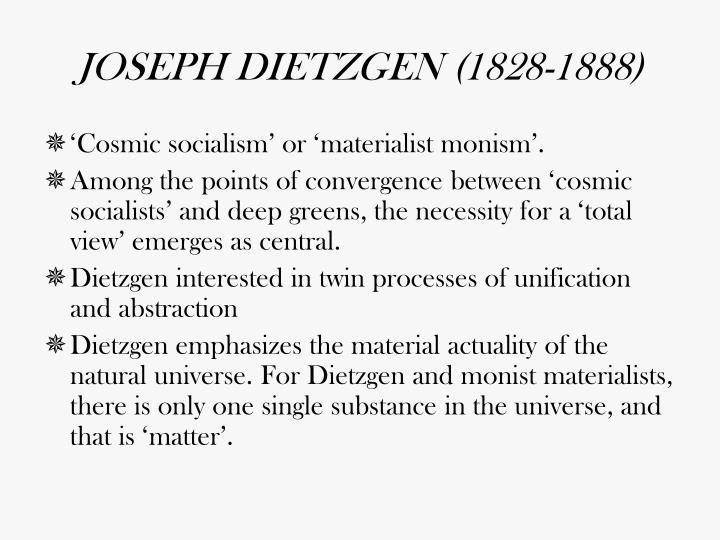 JOSEPH DIETZGEN (1828-1888)