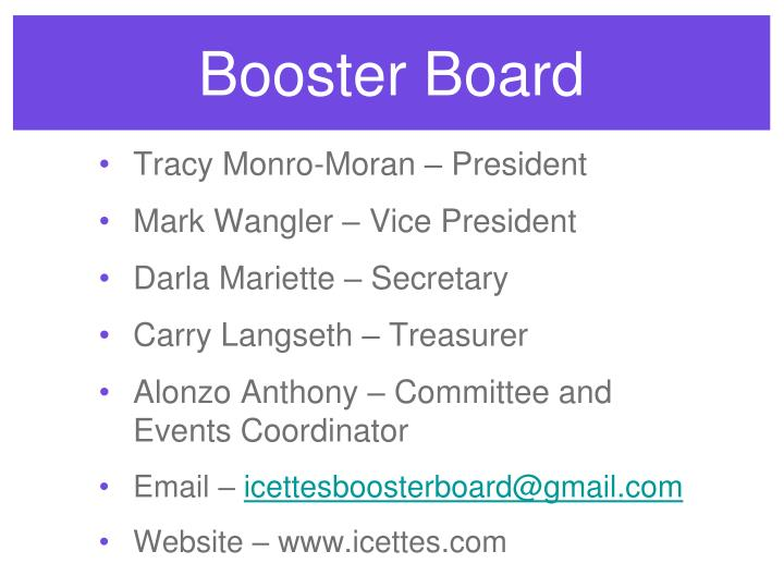 Booster Board
