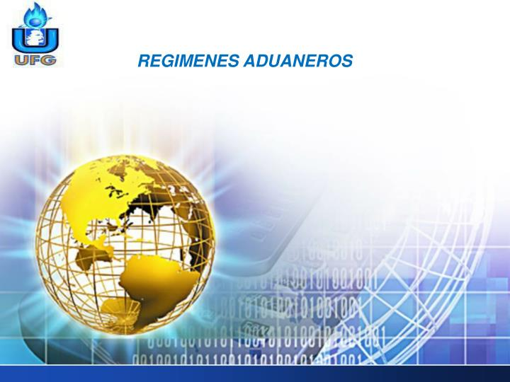 REGIMENES ADUANEROS