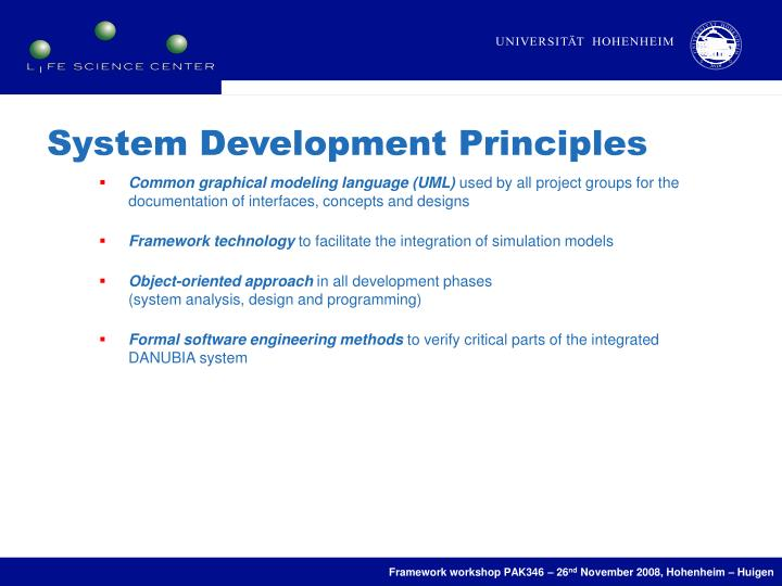System Development Principles