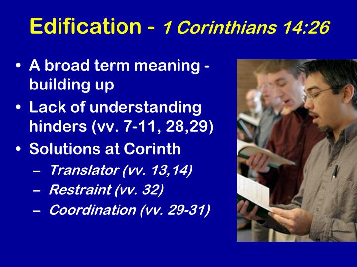Edification -