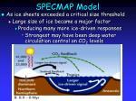 specmap model