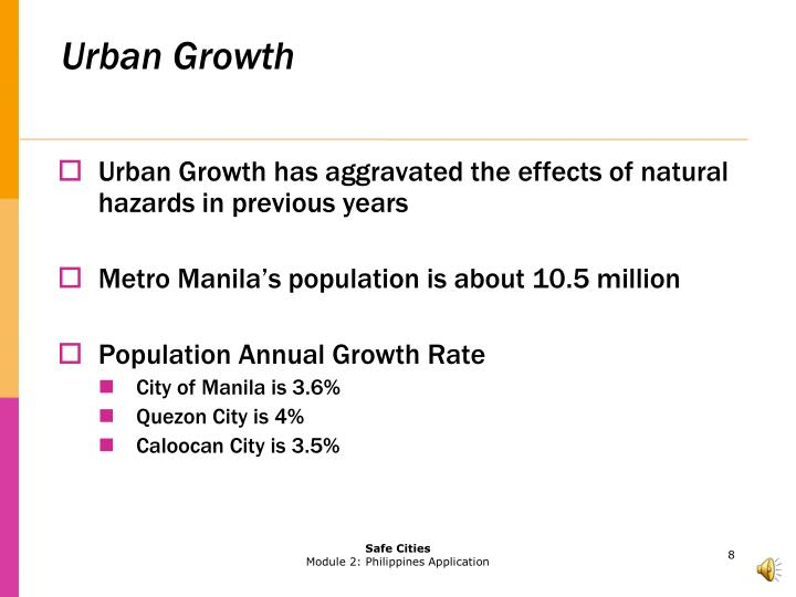 Urban Growth