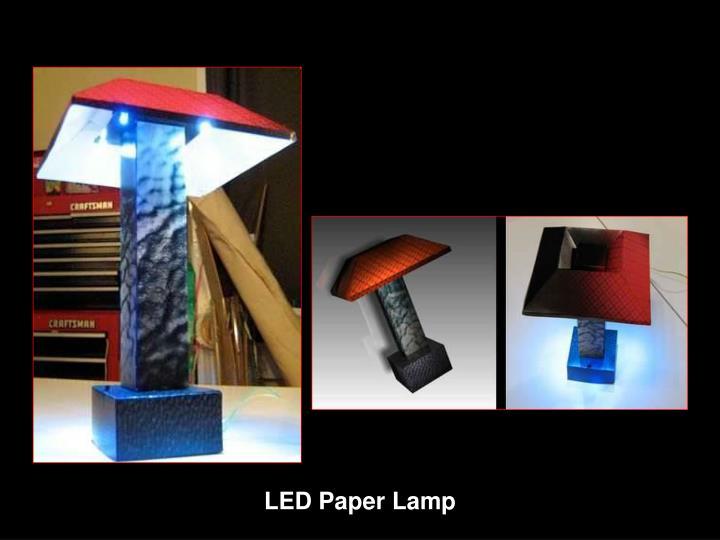 LED Paper Lamp