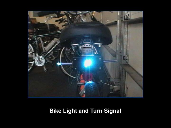Bike Light and Turn Signal