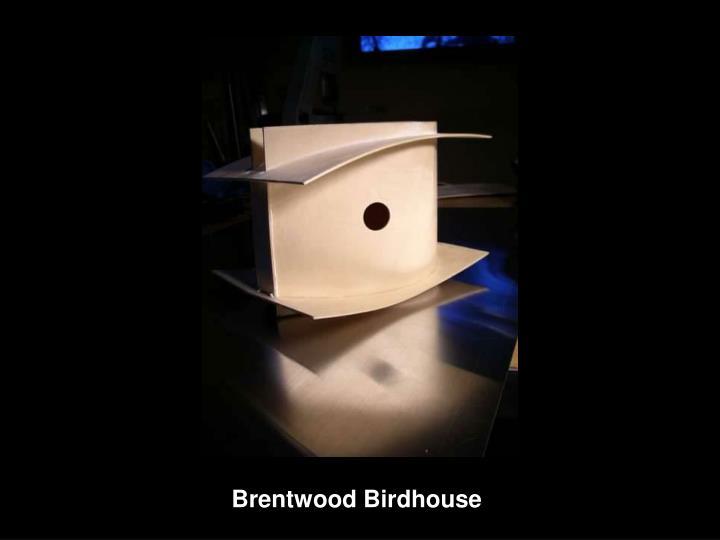 Brentwood Birdhouse