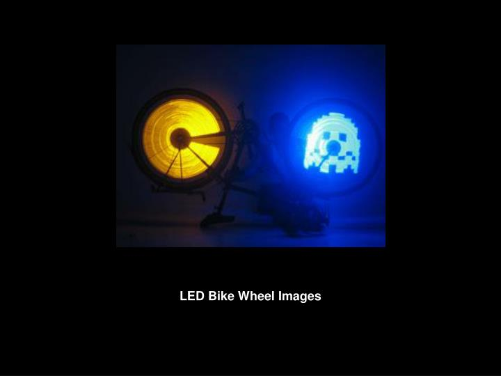 LED Bike Wheel Images