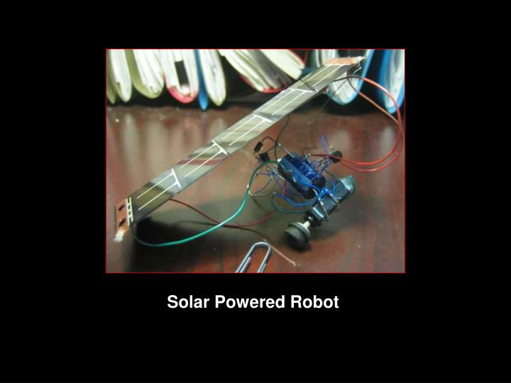 Solar Powered Robot
