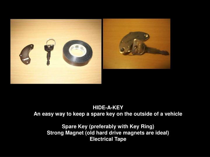 HIDE-A-KEY