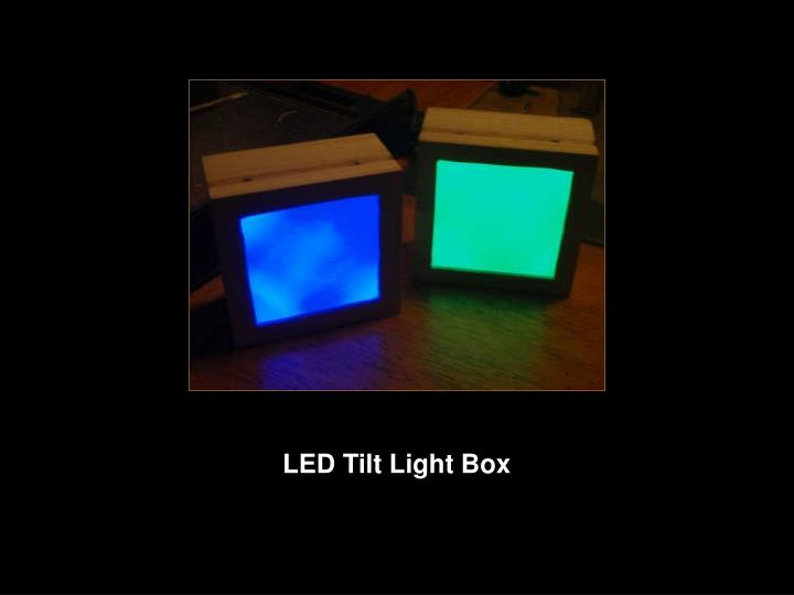 LED Tilt Light Box