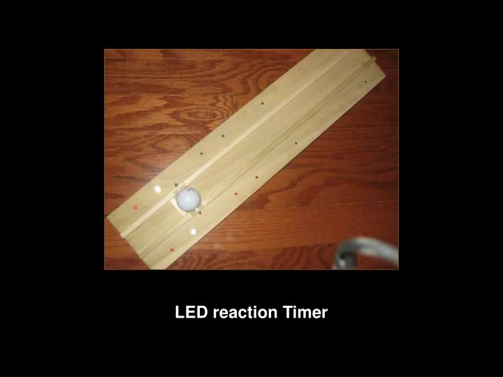 LED reaction Timer