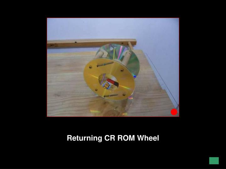 Returning CR ROM Wheel