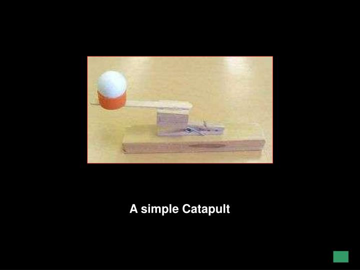 A simple Catapult