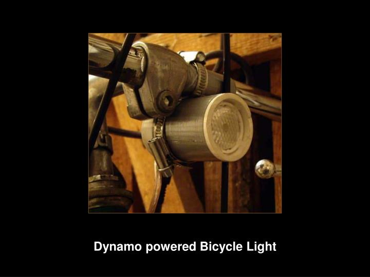 Dynamo powered Bicycle Light