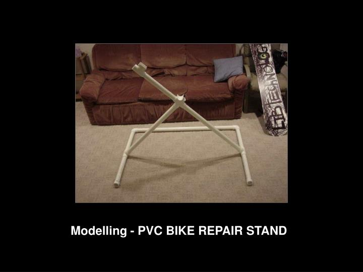 Modelling - PVC BIKE REPAIR STAND