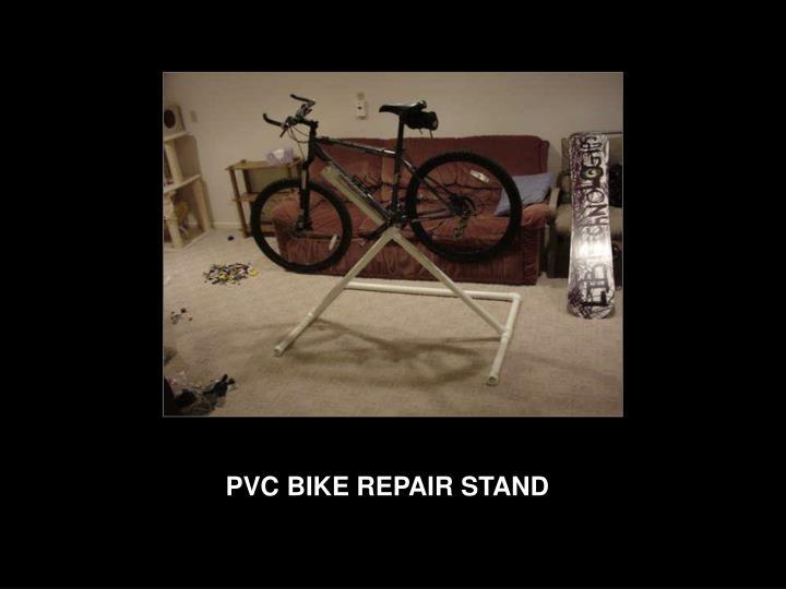 PVC BIKE REPAIR STAND